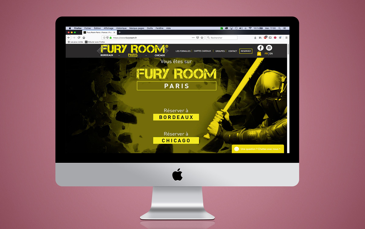 Image Site  Fury Room iMac